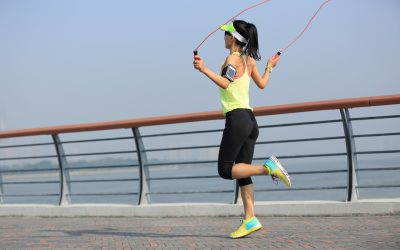 JUMP ROPE TO SHED FAST!