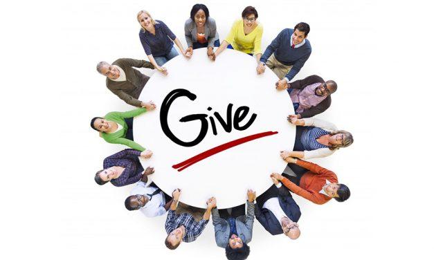 GENEROSITY PAYS